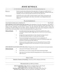 Salesperson Resume Sample Scannable Resume Template Simple Resume Template Word