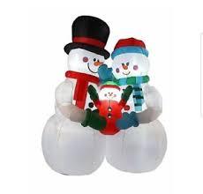 outdoor snowman current 1991 now ebay