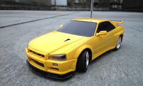 Nissan Gtr Drift - aero r c drifting package light nissan skyline gt r r34