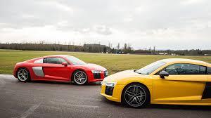 audi a8 v10 plus audi r8 coupe v10 plus 2017 term test review by car magazine