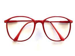vintage glasses red glasses wire framed glasses big glasses retro