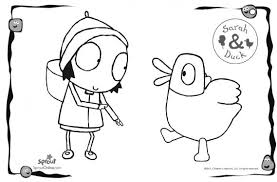 duck coloring pages sarah duck coloring pages u2013 kids coloring