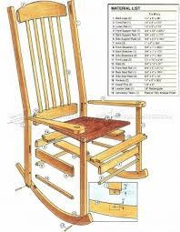 Best  Rocking Chair Plans Ideas On Pinterest Adirondack - Wooden rocking chair designs