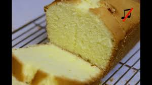 butter cake pound cake recipe no music cooking a dream youtube