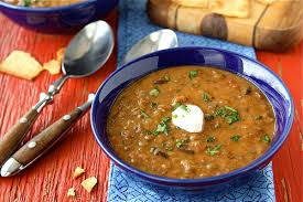 cookin u0027 canuck hearty lentil u0026 black bean soup with smoked
