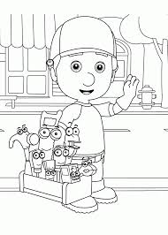 download coloring pages handy manny coloring pages handy manny