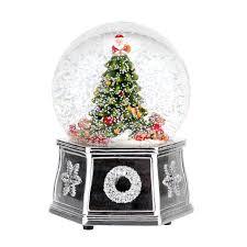 portmeirion spode christmas tree 2016 snow globe 5 5