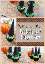 halloween party witch hat cupcakes the mummy toolbox