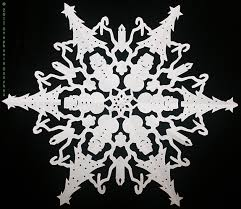 cut paper snowflakes patterns paper snowflake with