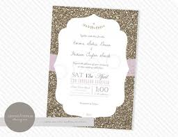 Wedding Invitation Card Diy Diy Glitter Wedding Invitations Card Design Collection Wedding