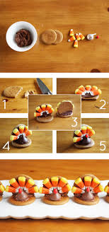 easy thanksgiving turkey cookies guest celebrations