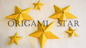 christmas decoration origami star youtube
