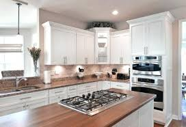 white cabinets with butcher block countertops butcher block countertops white cabinets shabby chic kitchen with