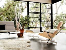 Leather And Wood Chair With Ottoman Design Ideas Article Image Idées Déco Clients Pinterest Eames Chairs