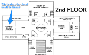 Capitol Building Floor Plan Oklahoma House Speaker Defends The Addition Of A Chapel To The