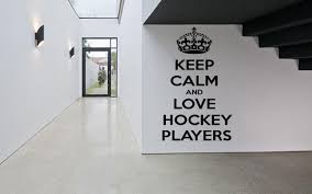 wall decals stickers home decor home furniture diy wall decor art vinyl sticker mural decal ice hockey club quote keep calm sa331