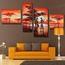 buy safari oil paintings and get free shipping on aliexpress com