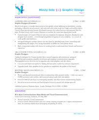 Summary For Job Resume Sample Resume Of Graphic Designer Gallery Creawizard Com