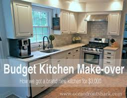 budget kitchen make over ocean front shack diy house