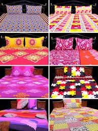 Best Bedsheet by Buy Divine 100 Cotton 4 Double U0026 4 Single Bedsheets Combo 4dsbs6