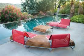 Patio Furniture Chairs Ultra Modern Pool Lounge Chairs To Turn Your Backyard Into Retreat