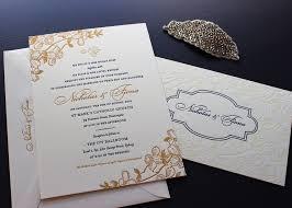 Cherry Blossom Wedding Invitations Golden Cherry Blossom Wedding Invitations U2014 Sesame Letterpress