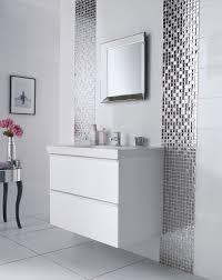bathroom border ideas bahtroom square mirror above cool vanity plus sink