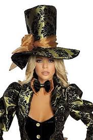 Mad Hatter Halloween Costume Women U0027s Deluxe Tea Party Tease Mad Hatter Halloween Party