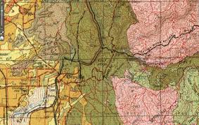 Geological Map Of Usa by Oroville Dam Roc Doc Travel