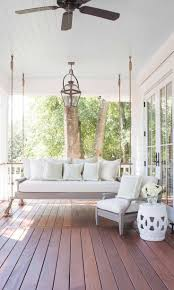 patio furniture front porch swings back porches hanging swing
