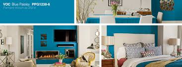 ppg color of the year 2015 blue paisley spectrum paint