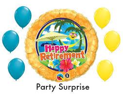 retirement balloon bouquet retirement balloon bouquet happy retirement party balloons