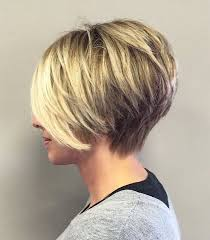 short stacked haircuts for fine hair that show front and back short stacked haircut for fine hair hair styles pinterest
