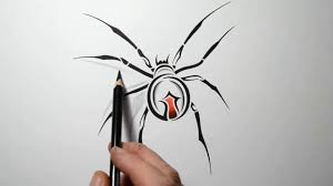 how to make 3d spider tattoo design unique ideas youtube