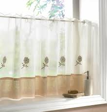 Kitchen Curtains Amazon by The Flexible Characteristic Of The Cafe Curtains Design House