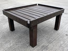 potting table recycled plastic education