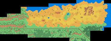 World Map Of Deserts Mother Remake Desert Map Earthbound Central