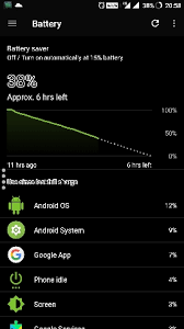 update android os battery drain problem after 7 1 1 update oneplus forums