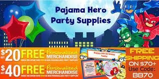 pj masks party supplies review u2013 nanhy