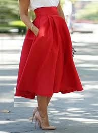 high waisted skirts length gathered skirt high waisted