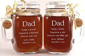 Engravable Wedding Gifts Amazon Com Dad Wedding Gift Mason Jars Father Of The Groom Gift