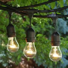 Cheap Patio String Lights by Commercial Grade Outdoor Patio String Lights 48 Ft U2013 Light For