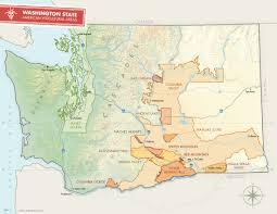 Map Of State Of Washington by Washington State Wine Commission Washington State U2014the Perfect
