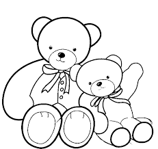 christmas teddy bear digital art gallery teddy bear coloring