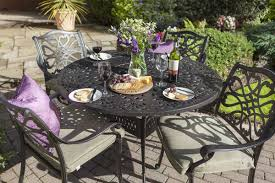 Cast Aluminium Garden Table And Chairs Home Hartman Outdoor Furniture Products Uk