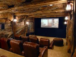 home theater basement awesome wood wall theme under mount wall