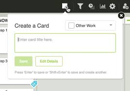create a card leankit help support