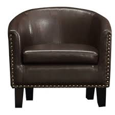 Faux Leather Accent Chair Faux Leather Accent Chairs You Ll Wayfair