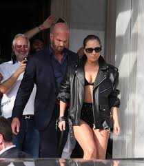 gaga leaving her hotel in athens greece september 2014