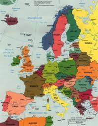 Europe Map With Countries by Europe Political Map 1998 U2022 Mapsof Net